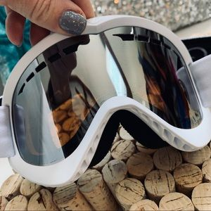 DRAGON Luma Lens Ski Snowboard Googles White/Blk